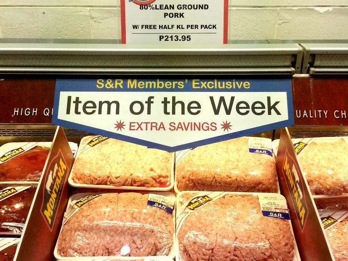 SnR Aug 28 Lean Ground Pork Free Half Kilo