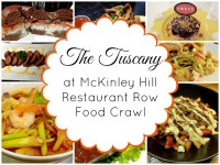 Tuscany Food Crawl McKinley Hill Restaurants Food Crawl Featured Image