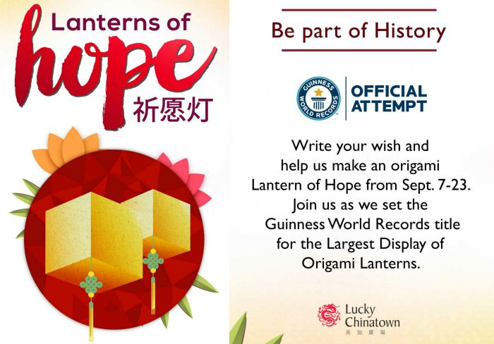 Lantens of Hope at Lucky Chinatown Collage