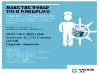 Maersk Job Fair Social Media Photo - Dagupan Featured Image