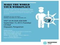 Maersk Job Fair Social Media Photo - Dagupan Featured Image