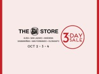 SM 3 Day Sale Oct 2 3 4 2015 Aura San Lazaro
