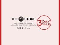 SM 3 Day Sale Oct 2 3 4 2015 Aura San Lazaro