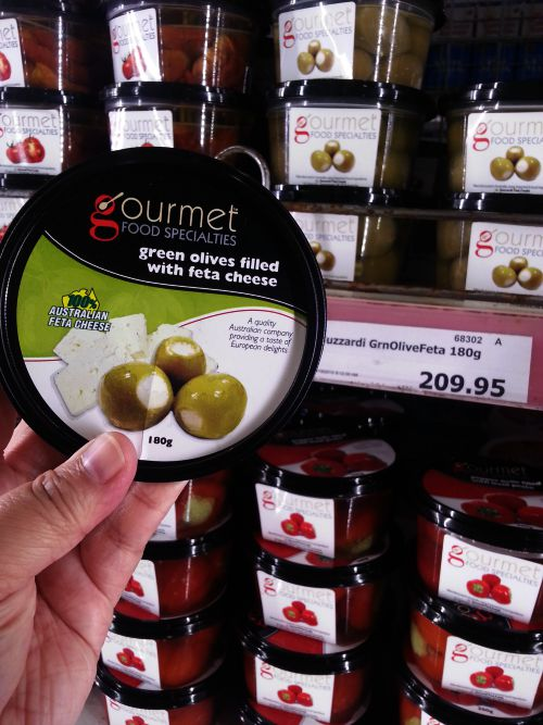 SnR Aug 28 Gourmet Food Specialties Green Olives with Feta