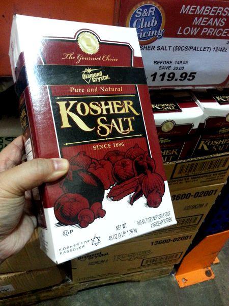 SnR Aug 28 Kosher Salt