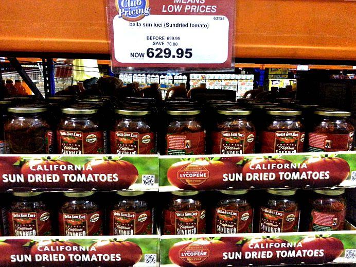 SnR Aug 28 Sun Dried Tomatoes