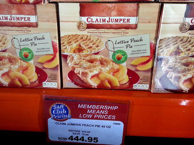 SnR Sept 22 Claim Jumper Lattice Peach Pie
