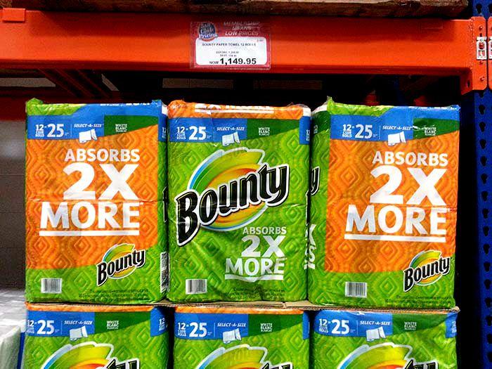 SnR Sept 8 Bounty Paper Towel