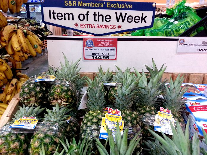 SnR Sept 8 Dole Tropical Gold Pineapple