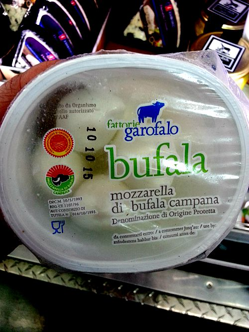SnR Sept 8 Garofalo Bufala Mozzarella Top View
