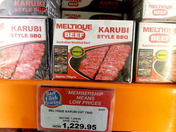 SnR Sept 8 Meltique Beef Karubi