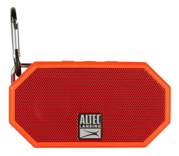 Altec Lansing Bluetooth Speaker Launch Mini H2O Carabiner