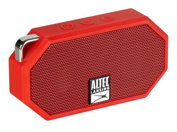 Altec Lansing Bluetooth Speaker Launch Mini H2O Top