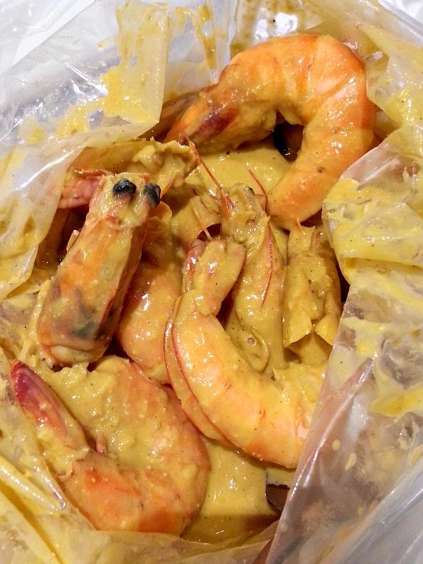 Cruising x Zomato Shrimp Bucket Review Salty Eggsperience Close Up