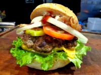 McKinley Food Truck Festival Malcolms Bacon Cheese Burger