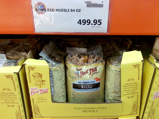 SnR Oct 13 Red Mill Old Country Style Muesli