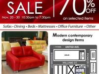 Blims Warehouse Sale November