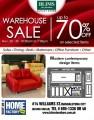 Blims Warehouse Sale, Nov. 20-30, 2015!