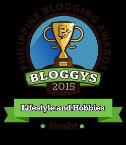 Bloggys 2015 Finalist