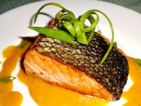 SnR Easy Grilled Salmon with Honey Mustard Sauce