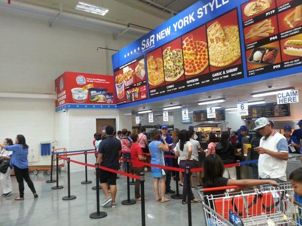 SnR Nuvali Pizza Counter