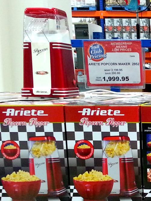 SnR Nuvali Popcorn Maker Popper Ariete