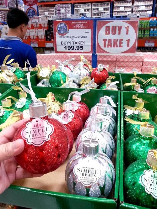 SnR Nuvali Shower Gel Christmas Ball Buy 1 Take 1