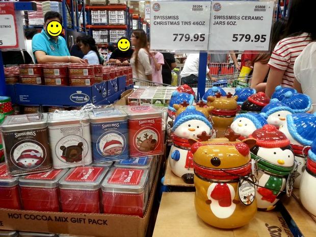 SnR Nuvali Swiss Miss Christmas Hot Cocoa Tins Jars