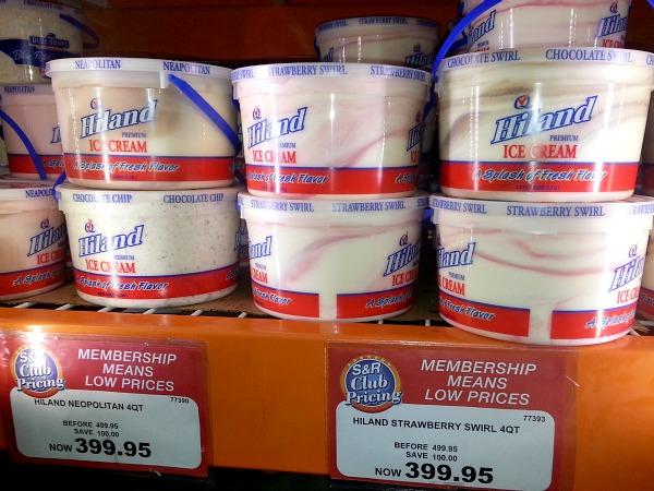 SnR Dec 28 Hiland Ice Cream Gallon Neapolitan