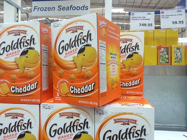 SnR Dec 28 Pepperidge Farm Cheddar Goldfish