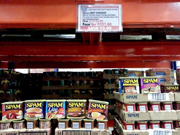 SnR Dec 28 Spam Buy 4 Save P10