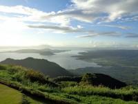 Taal Vista Hotel Lake Volcano View from Balcony
