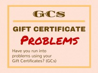 Gift Certificate Problems
