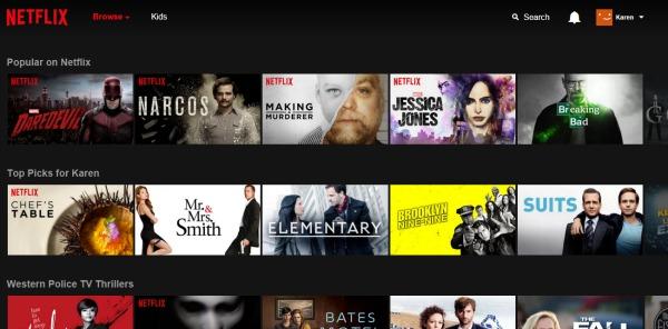 Netflix Philippines Browse