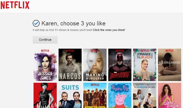 Netflix Philippines Choose 3 Build Profile