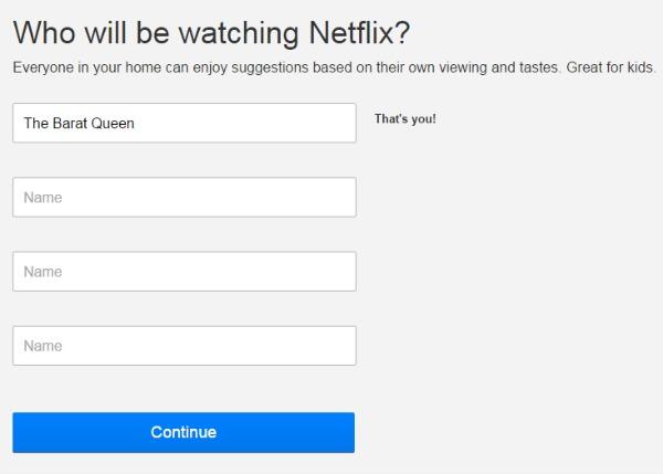 Netflix Philippines Create Profiles