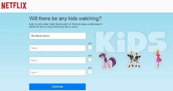Netflix Philippines Kids Profile