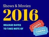 Shows and Movies to See in 2016