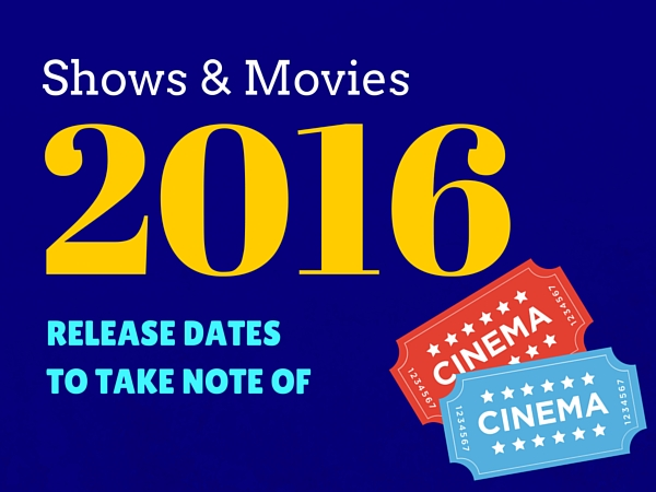 List of Movies To See in 2016