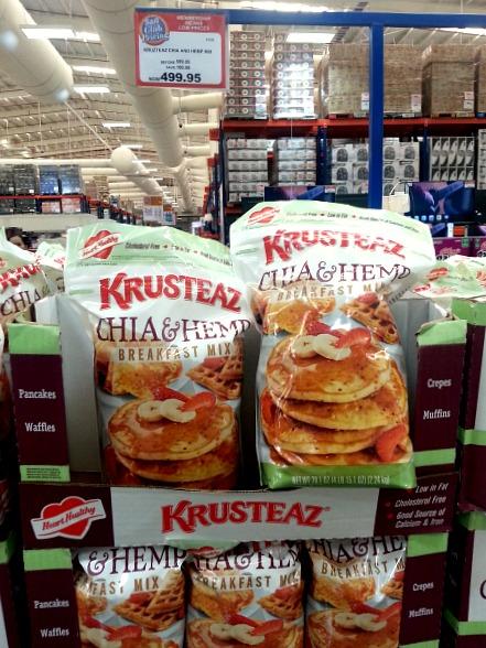 SnR January 2016 Krusteaz Chia Hemp Breakfast Mix