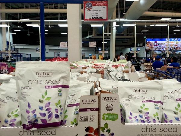 SnR January 2016 Nutiva Chia Seeds