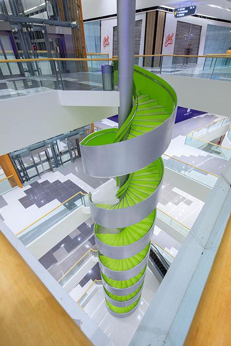 SM Seaside City Cebu Spiral Stairs