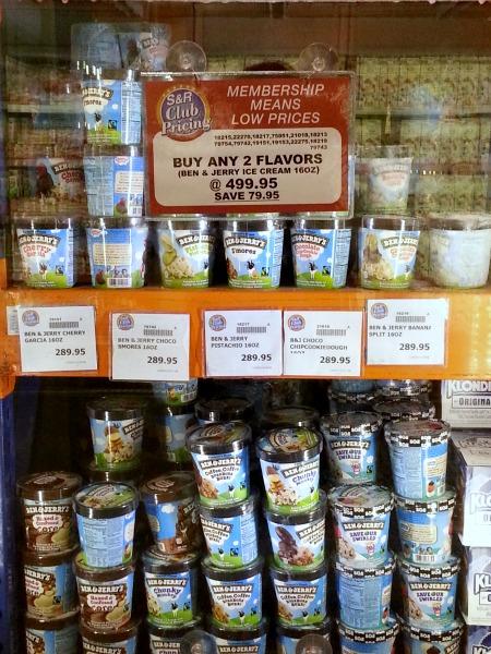 SnR Feb 2016 Ben and Jerrys Ice Cream Promo