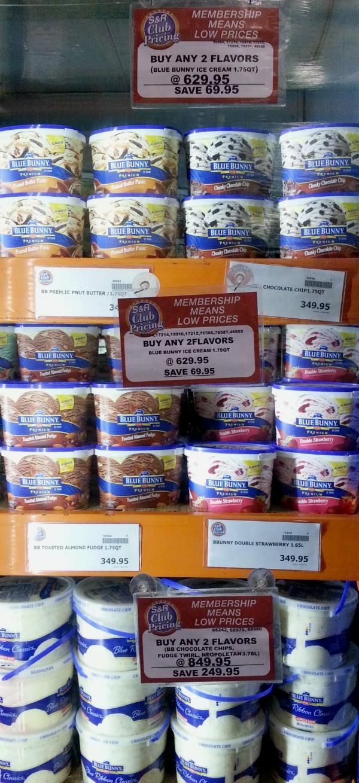 SnR Feb 2016 Blue Bunny Ice Cream Sale