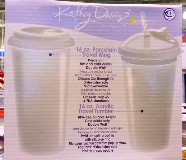 SnR Feb 2016 Kathy Davis Travel Mugs Specifications