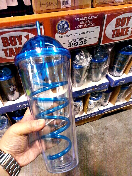 SnR Feb 2016 Rove Buy 1 Take 1 Silly Straw Tumbler Close Up