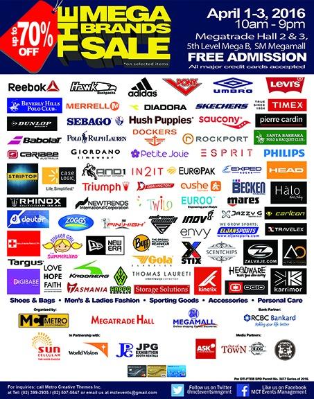 14th MegaBrands Sale Official Poster Web