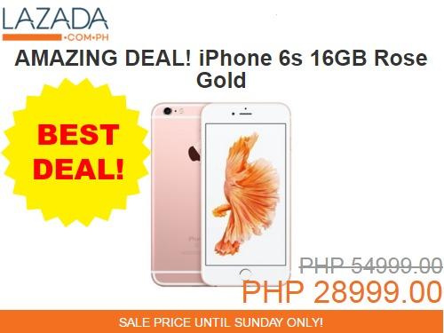 Lazada Anniversary iPhone 6S Sale