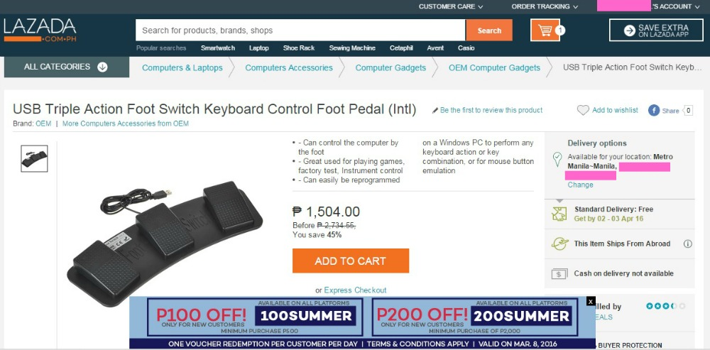 Lazada Hello Pay Ordering Pedal Resized