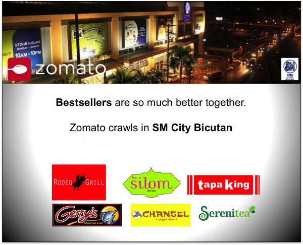 SM Bicutan Zomato Food Crawl Feature Image